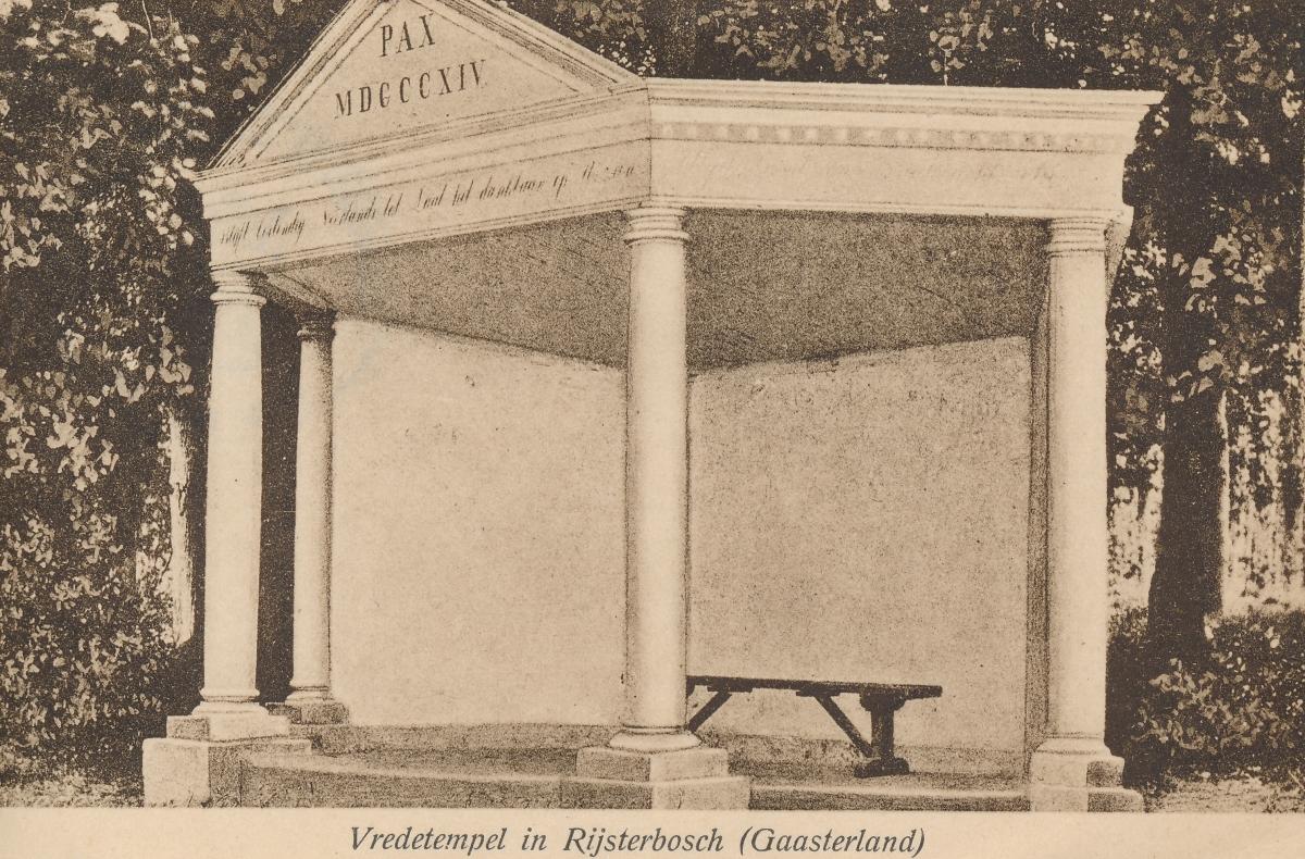 HWG Rijs_Vredetempel uit Rijsterbosch uit archief gemeente GS